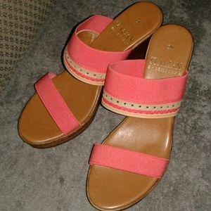 Italian Shoemakers Summer Wedges